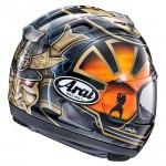Arai RX-7V Pedrosa Spirit Gold Helmet