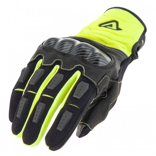 Acerbis Ce Carbon G 3.0 Yellow Black Gloves