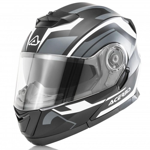 Acerbis Serel Black Grey Helmet