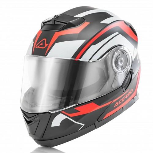 Acerbis Serel Black Red Helmet