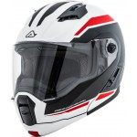 Acerbis Derwel White Red Helmet