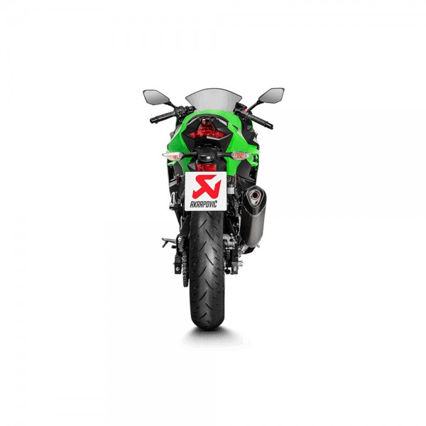 Akrapovic Slip-On Line Titanium Exhaust For Kawasaki Ninja 400 Part