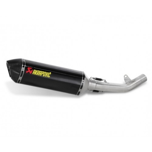 Akrapovic Slip Line On Carbon Exhaust For Kawasaki Z750 2007-2012 Part # S-K7SO2-ZC