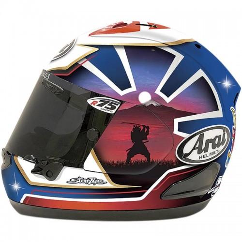 Arai RX-7V Pedrosa Spirit Blue Helmet