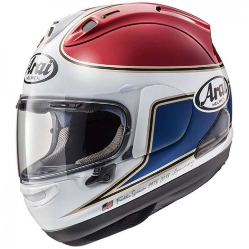 Arai RX-7V Spencer 40th Red Helmet