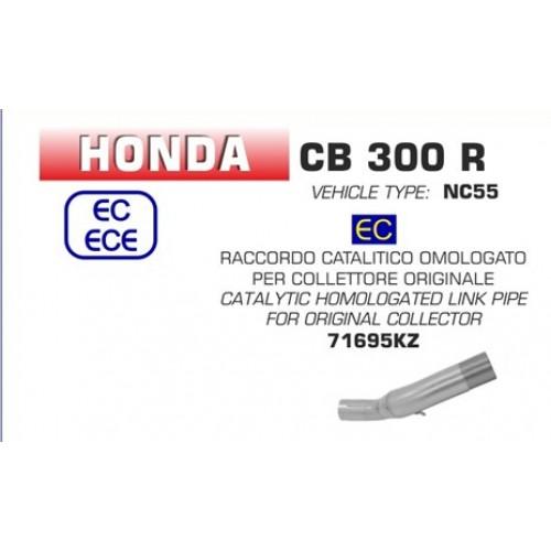 Arrow Catalytic Link Pipe Original Collectors For Honda CB300R Part # 71695KZ