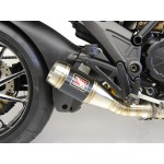 Competition Werkes GP Slip On Exhaust For Ducati Diavel 2011 Part # WDDVL
