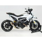 Competition Werkes GP Slip On Exhaust For Ducati Hypermotard 939 2013 Part # WDHYP2M