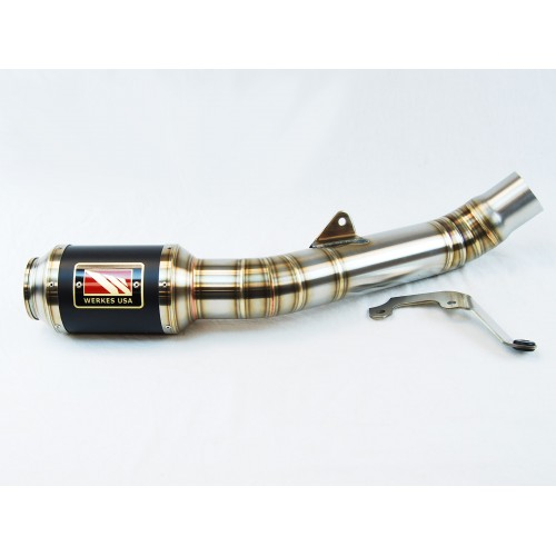 Competition Werkes GP Race Slip On Exhaust For Kawasaki ZX-10R Part # WK1005R-BC