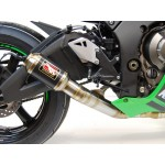 Competition Werkes GP Race Slip On Exhaust For Kawasaki ZX-10R 2016 Part # WK1005R-BC