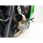 Competition Werkes GP Race Slip On Exhaust For Kawasaki Ninja ZX-6R 2013 Part # WK609R-BC