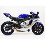 Competition Werkes Slip On Exhaust For Yamaha YZF-R1 2015 Part # WY1010