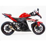 Competition Werkes Slip On Exhaust For Yamaha YZF-R3 Part # WY300