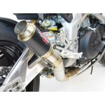 Competition Werkes GP Race Slip On Exhaust For Aprilia RSV4 RR / Tuono V4 1100 RR 2017-2018 Part # WA1006R-BC
