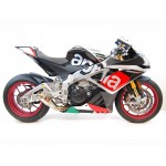 Competition Werkes Slip On Exhaust For Aprilia RSV4 RF 2015-2016 Part # WA1005