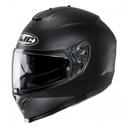 HJC C70 Semi Flat Black Helmet