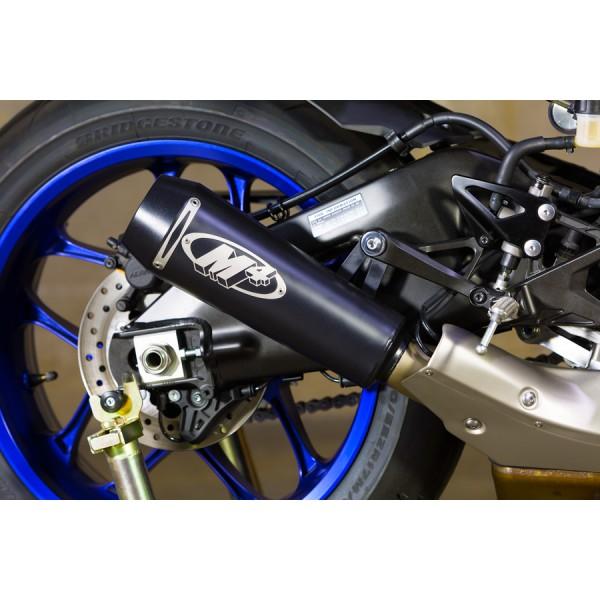 M4 GP Black Slip On Exhaust For Yamaha YZF-R1 2015-2018 Part # YA9922-GP
