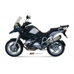 MIVV Titanium Slip On Oval Exhaust For BMW R 1200 GS 2012 Part #B.012.L8