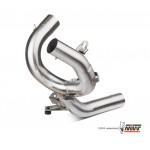MIVV Titanium Tube No Cat Exhaust For Ducati Multistrada 1200 2012 Part #D.027.C3