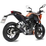 MIVV Carbon Full System 1-1 For KTM Duke 390 2012 Part #KT.012.L2S