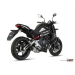 MIVV Steel Black Full System For Kawasaki ER-6n 2014 Part #K.029.L9