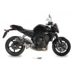 MIVV Steel Black Slip On GP Exhaust For Yamaha FZ1 2010 Part #Y.023.LXB
