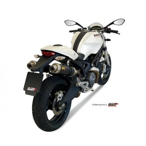MIVV Carbon Exhaust For Ducati Monster 696 2013 Part #D.023.L2S