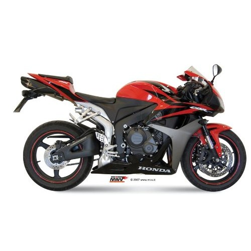 MIVV Black Steel Exhaust For Honda CBR600RR 2013 Part #UH.037.L9