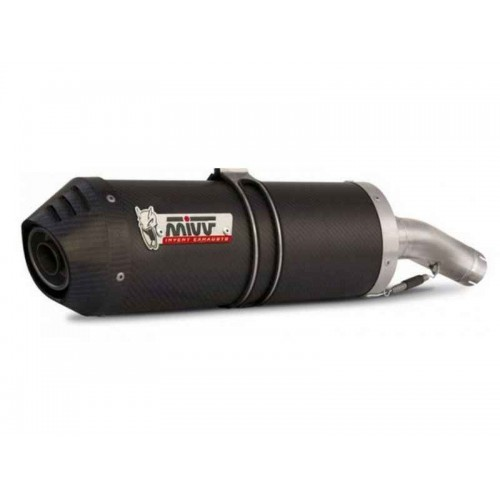 MIVV Carbon Carbon Cap Exhaust For Kawasaki Versys 1000 2015 Part #K.040.LEC