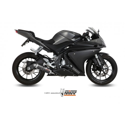 MIVV Carbon Exhaust For Yamaha YZF-R125 2014 Part #Y.047.L2S