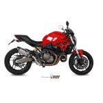 MIVV Suono Stainless Steel Exhaust Ducati Monster 821 2014-2017 Part # D.030.L7