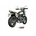 MIVV Delta Race Stainless Steel Exhaust Ducati Scrambler 800 2015 Part # D.035.LDRX