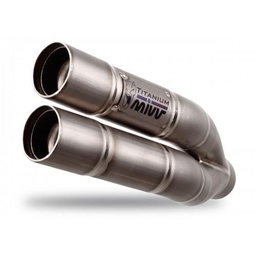 MIVV Double Gun Titanium Exhaust Honda CBR650F Part # H.054.LDG
