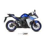 MIVV Full System Black Stainless Steel Exhaust Yamaha YZF-R3 2015 Part # X.YA.0008.SXB