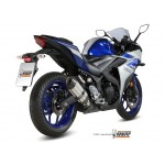 MIVV Suono Stainless Steel Exhaust Yamaha YZF-R3 2015 Part # Y.048.L7