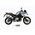 MIVV Delta Race Stainless Steel Slip-on Exhaust BMW F 750 GS Part # B.033.LDRX
