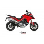 MIVV Delta Race Black Stainless Steel Exhaust Ducati Multistrada 1260 Part # D.033.SDRB