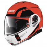 Nolan N100-5 Consistency N-Com Corsa Red Helmet
