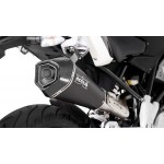 Remus Hypercone Complete System Stainless Steel Black For BMW G 310 R 2017-2018 Part # 016783 082017