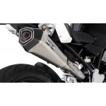 Remus Hypercone Complete System Stainless Matt For BMW G 310 R 2017-2018 Part # 016683 082017