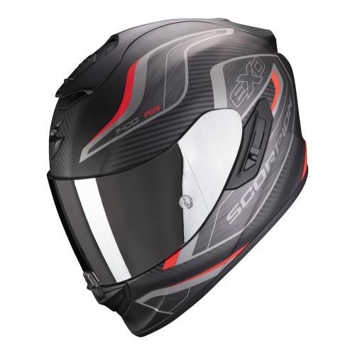 Scorpion Exo-1400 Air Attune Black Red Helmet