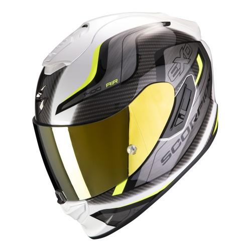 Scorpion Exo-1400 Air Attune Black Yellow Helmet
