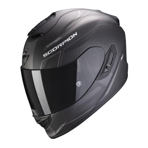 Scorpion Exo-1400 Air Carbon Beaux Matt Black Helmet