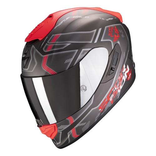 Scorpion Exo-1400 Air Spatium Black Red Helmet
