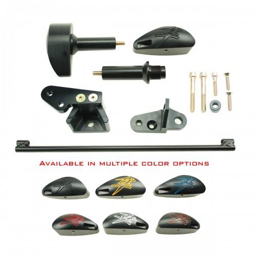T-Rex Racing Black No Cut Frame Sliders For Suzuki Hayabusa (GSX1300R) 2008-2015