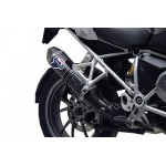Termignoni Stainless Steel Carbon Exhaust For BMW R 1200 GS 2013-2016 Part #BW12080CV