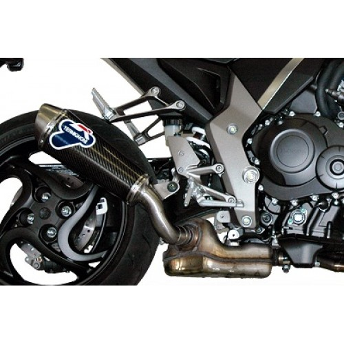 Termignoni Stainless Steel Carbon Exhaust For Honda CB1000R 2008-2013 Part #H080080CO