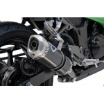 Termignoni Stainless Steel Carbon Exhaust For Kawasaki Ninja 300 2013 Part #K074094CV