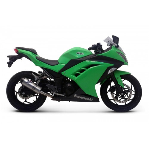 Termignoni Stainless Steel Carbon Exhaust For Kawasaki Ninja 300 2013 Part #K074094CVI