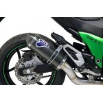 Termignoni Stainless Steel Carbon Exhaust For Kawasaki Z800 2014 Part #K075094CV